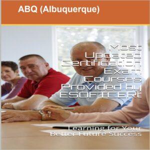 ABQ [Albuquerque] Certifications Courses