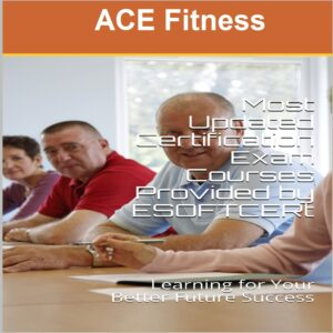ACE Fitness [AMERICAN COUNCIL ON EXERCISE FITNESS] Certifications Courses