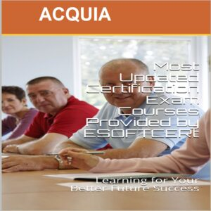 ACQUIA Certifications Courses