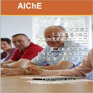 AIChE Certifications Courses