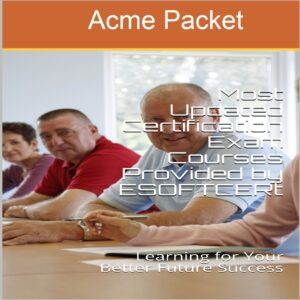 Acme Packet Certifications Courses