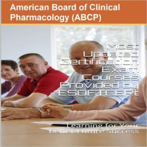 American Board of Clinical Pharmacology [ABCP] Certifications Courses