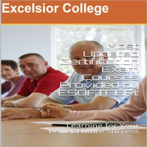 Excelsior College Certifications Courses